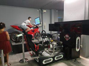Simulatore Moto Fdrive Bergamo