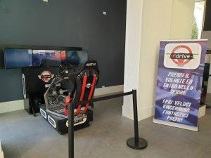 Simulatore GT Rally Fdrive Jesolo