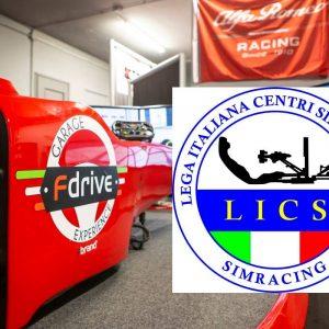 Allenamento Patente Scuderia Fdrive - LICS Centro Simulazione Bergamo - Simulatori di Guida Professionale