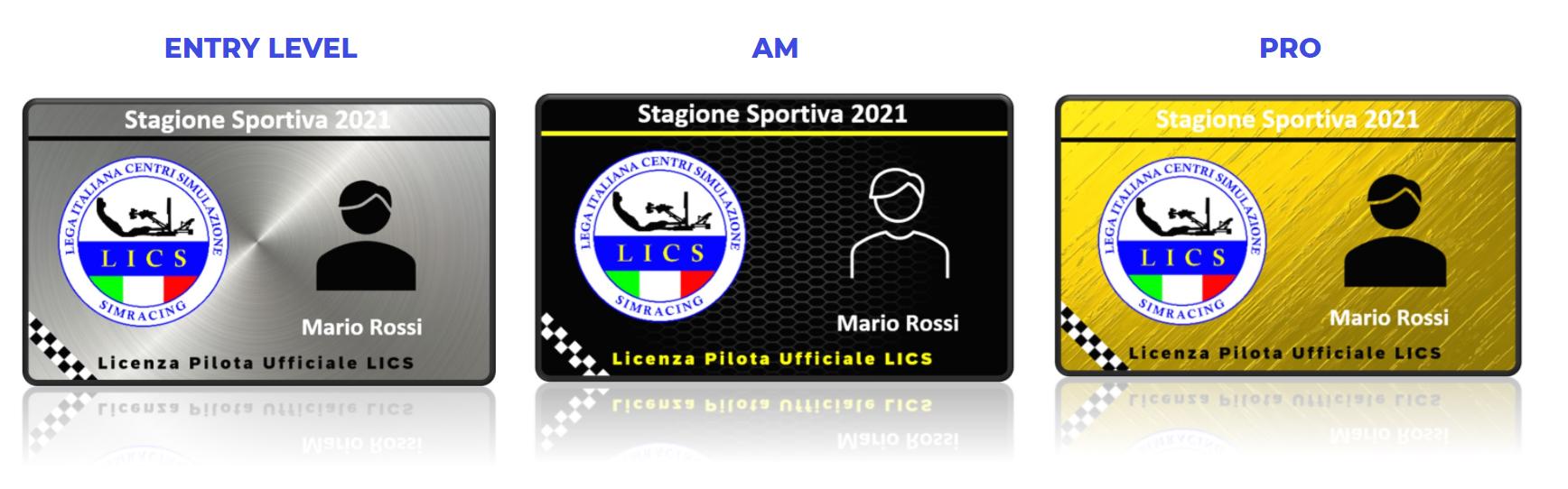 Patente Pilota LICS - Licenza Piloti Simulatori di Guida Professionale