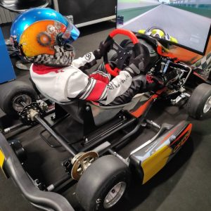 Simulatore Go Kart - Fast Emotion - Simulatore di Guida per Bambini
