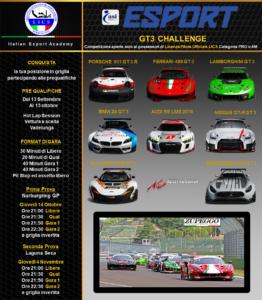eSports GT3 Challenge - Tornei eSports - Fdrive Experience Bergamo